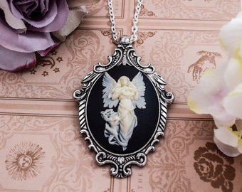 Angel Cameo Necklace