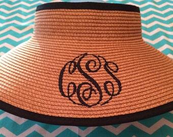 Ribbon Sun Visor Hat