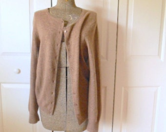 Vintage slouchy Cashmere cardigan Sweater
