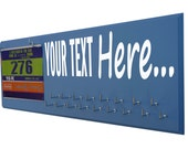 custom running medal holder - Create your own wording - custom - Please simply put your text in the comment seller box at check out
