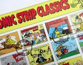 Sheet COMIC STRIP CLASSICS U.S. Postage Stamps, 32 cents, Last Day of Sale Cancellation
