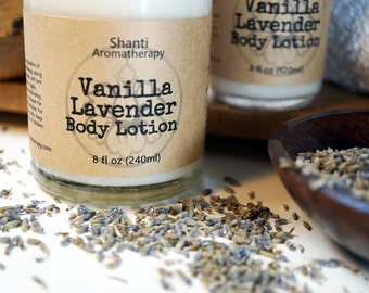 Lavender Vanilla Body Lotion 4oz All natural body lotion