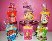 Shopkins Snack Boxes - Set of 10
