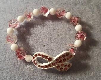 Breast Cancer Awareness Pink Bracelet