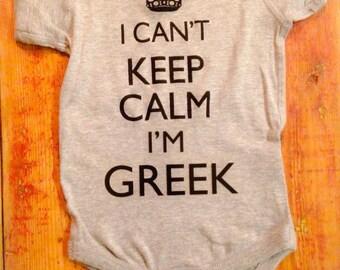 Greek Baby~ Grecian Baby~I cant keep calm I'm Greek~Greece