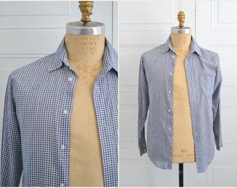 1970s Viking Gingham Men's Shirt