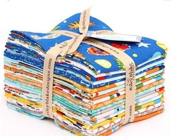ON SALE Riley Blake Fabric IN The Ocean Fat Quarter Bundle -- 18 Piece - Children's Fabric