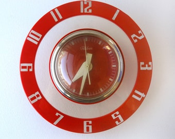 Telechron Saturn Wall Clock