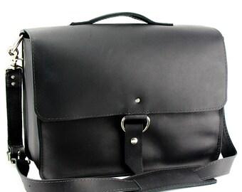"""15"""" Black Sierra Midtown Laptop Bag - 15-MID-BL-LAP"""