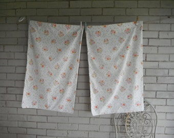 vintage pillowcases shabby chic cannon Canada floral pillow cases pair pillowcases bedding bedroom decor shabby decor cottage chic poly ctn