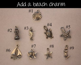 Add on charm to any item in my shop