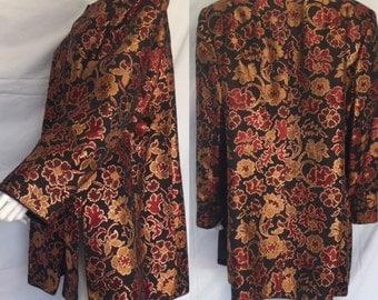 Timeless Vintage Mary McFadden Tunic Style Coat/Jacket - FREE SHIPPING IN U.S.