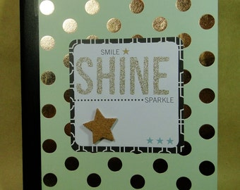 Shine {Altered Composition Book}