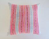 Neon Hmong Pillow Cover Vintage - Modern Bohemian Pillows and Home Decor - Tribal Throw Habitation Boheme
