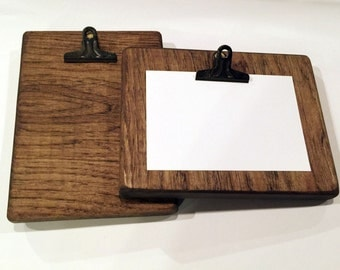 Photo Clipboard Frame, Photo Frame, Clipboard for Photos, Picture Frame, Clip Picture Frame, Clipboard Frame, Solid Wood Rustic Decor