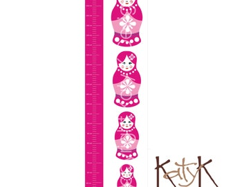 Babushka Dolls - Growth Chart