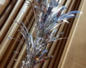 Aluminum Christmas Tree Replacement Branches Evergleam Vintage New Old Stock Set of 5
