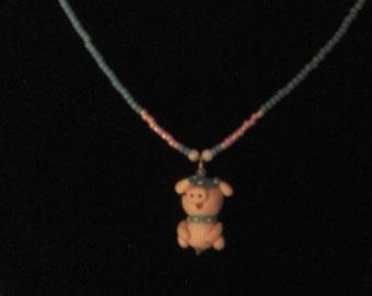 Little Piggy necklace