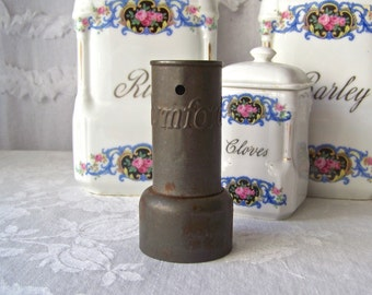 Vintage Rumford Biscuit Cutter Tin Mid Century Kitchen 1940s