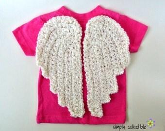 Crochet PATTERN My Lil Angel Wings - Decor, Baby, Amigurumi, Photo Prop, Costume, Pets - PDF