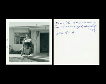 "Vintage Photo ""Grandma's Moving Day"" Apartment Home Snapshot Photo Old Photo Black & White Photograph Found Paper Ephemera Vernacular - 54"