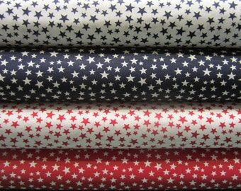 American Stars, Red, White and Blue, USA, Patriotic Prints