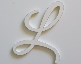 Letter L wooden letter - 8 inch