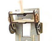Steampunk Rocker Old fashion knife Switch
