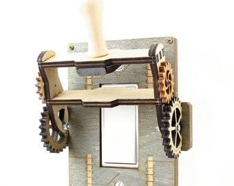 Steampunk Rocker Old fashion Knife Switch - 8101A