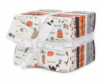 Spooky Delights Fat Quarter Bundle by Bunny Hill Designs for Moda