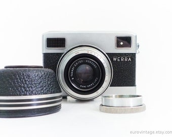 Vintage 35mm Film Camera Werra Rare Camera Werramat Working