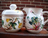 Villeroy & Boch Botanica Sugar and Creamer set
