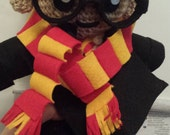 Reserved - Custom Made Harry Potter Crochet Doll