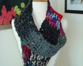 Post Apocalyptic Inspired Large Scarf Mixed Colors