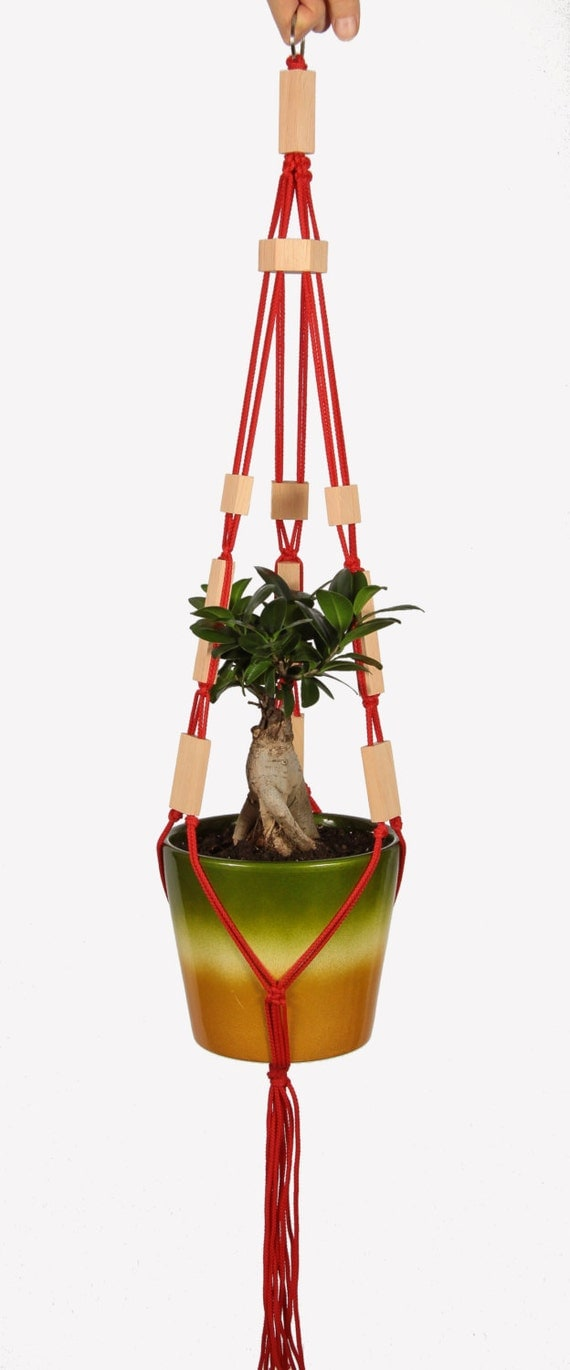 vertical plant hanger pot