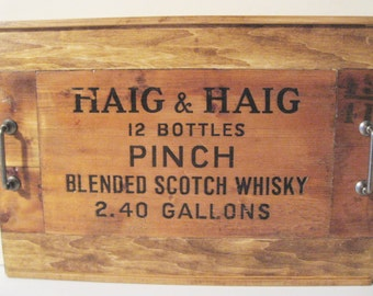Haig & Haig Pinch Wooden Serving Tray plus BONUS