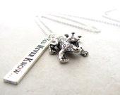 Fairytale Necklace, Prince Charming Necklace, Frog Necklace, Toad Necklace, Princess Necklace, Storybook Nekclace
