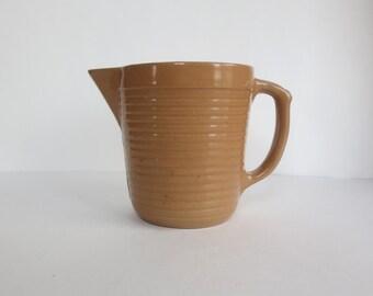 Vintage Monmouth Stoneware Pitcher
