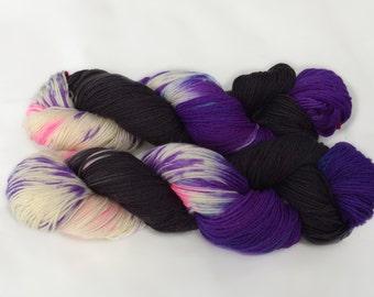 Sock Yarn, Hand Dyed Sock Yarn, Hand Dyed, Merino, Cashmere