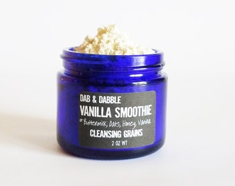 Face Wash | Vanilla Smoothie Cleansing Grains | Face Cleanser | Cleansing Facial Mask