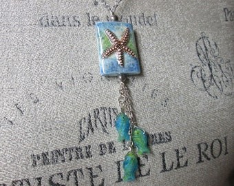 Ceramic Starfish Necklace