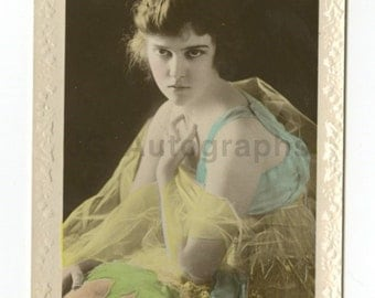 Madge Kennedy - Theatre & Silent Film Era Actress - Real Photo Postcard