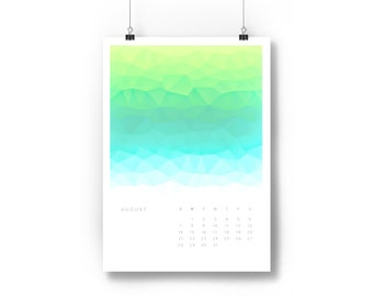 Rolling 12-Month Polygons Calendar