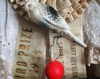 This Vintage Bird Cage Toy Could Have A Show Of His Own