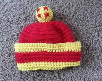 Crochet Hat Pattern - DragonballZ Son Gohan Inspired Hat Pattern - Size 0-3 months