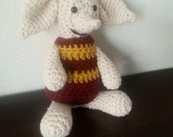 Dobby, crochet dobby, house elf, crochet Harry Potter