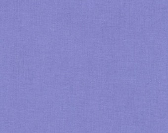 "Fabric Remnant, Lavender, Kona Cotton, Robert Kaufman Fabrics, 22"""