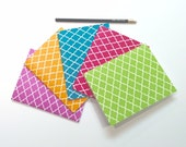 Notebook, journal, diary, sketchbook - Set of 5 - Ready to ship! Blank book.