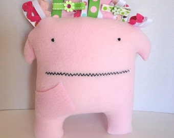 Pink Tooth Monster - Losing A Tooth Doesn't Have To Be Scary