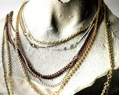 """Chain Necklace for Your Stinquepot Aromatherapy Pendant, Variety of Sizes and Style, 18"""" Chain, 20"""" Chain, 24"""" Chain, 30"""" Chain, Necklace"""